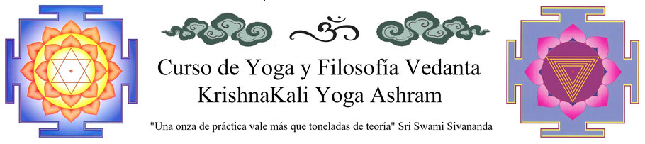 Curso de Yoga y Filosofía Vedanta KrishnaKali Yoga Ashram
