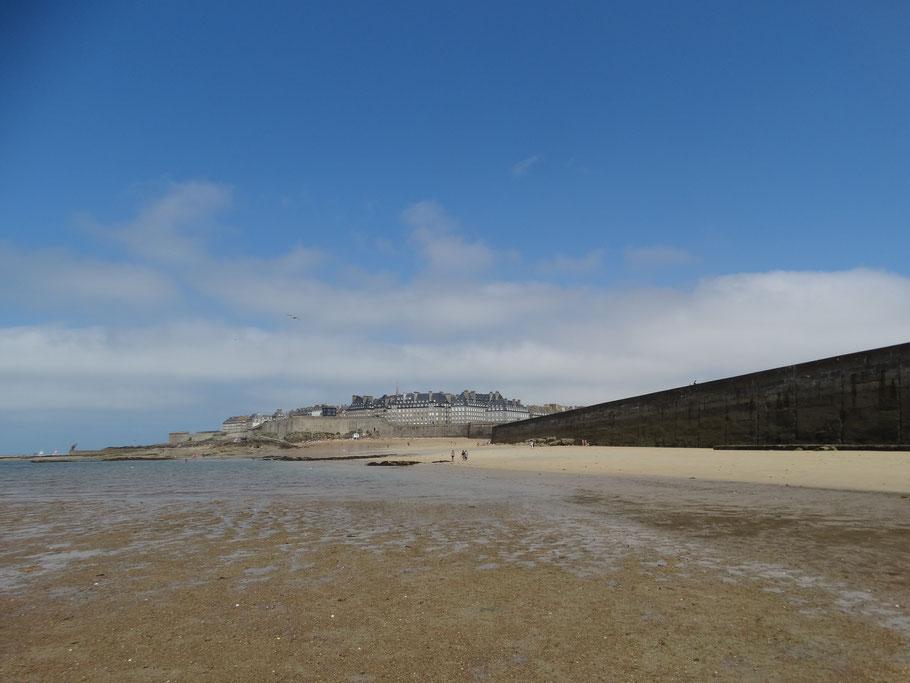 Städtereisen durch die Bretagne. Saint Malo
