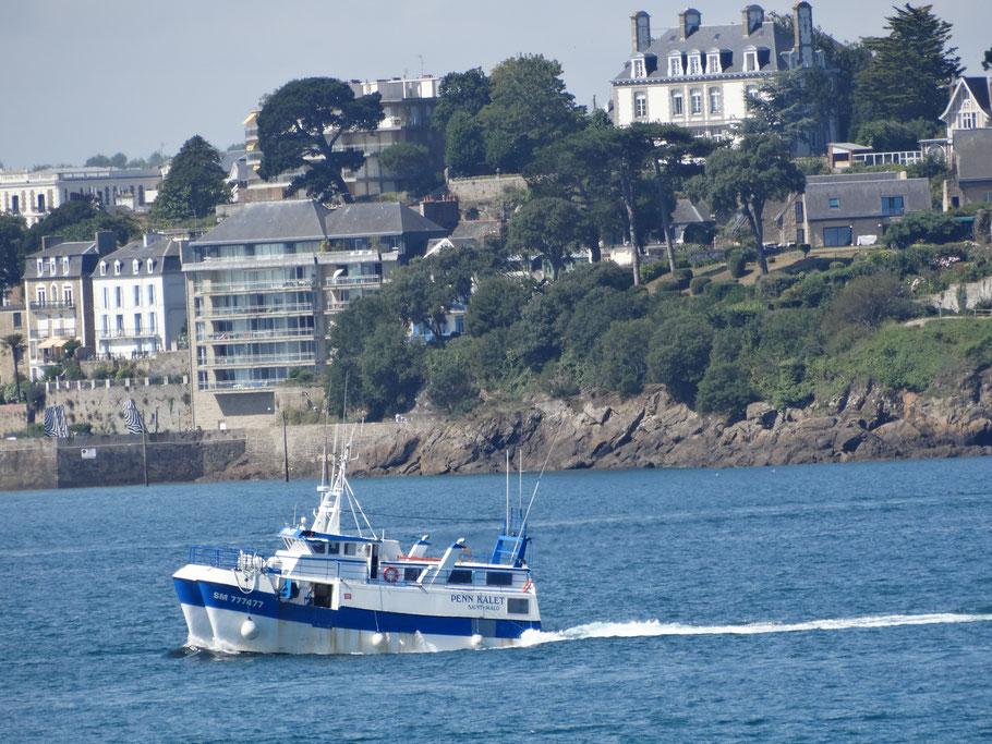 Bretagne Rundreise Dinard mit der Fähre
