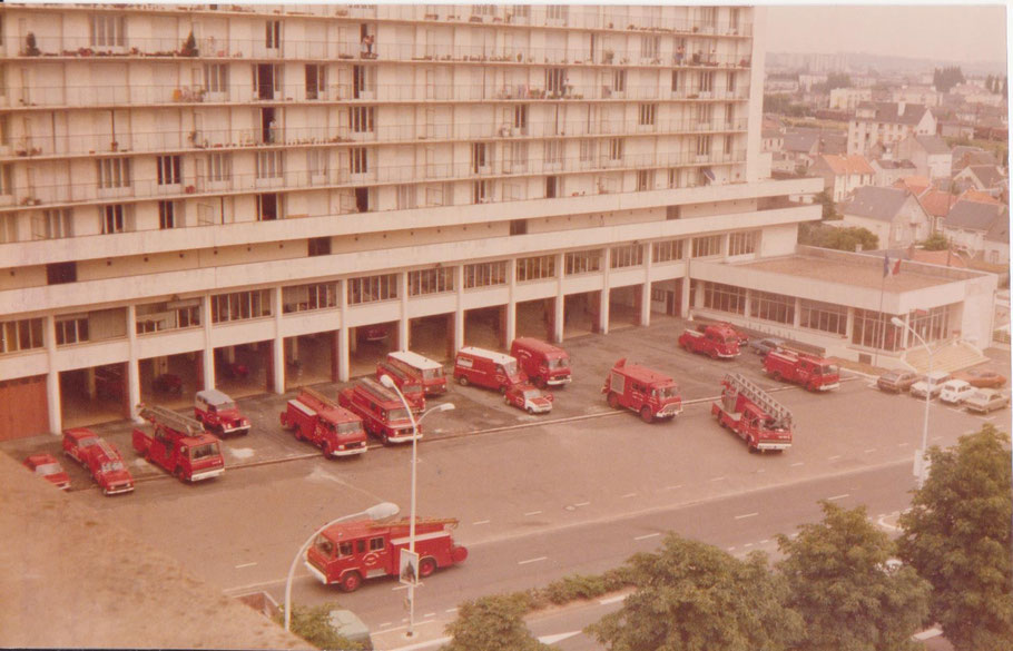 Caserne de Tours Centre 1985