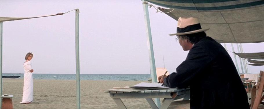 """Una scena del film """"Morte a Venezia"""" girata sulle nostre bellissime spiaggie"""
