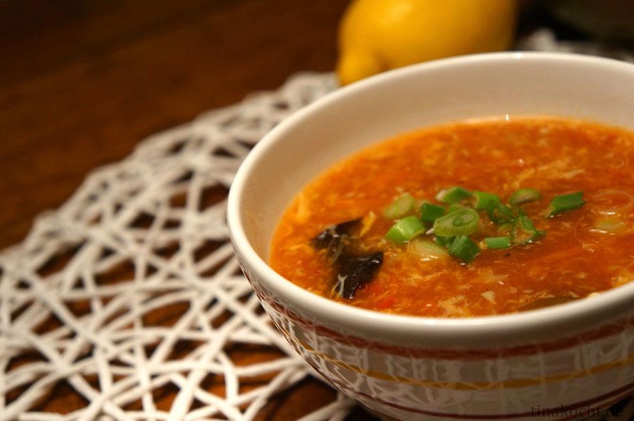 Peking Suppe Rezept tinakocht