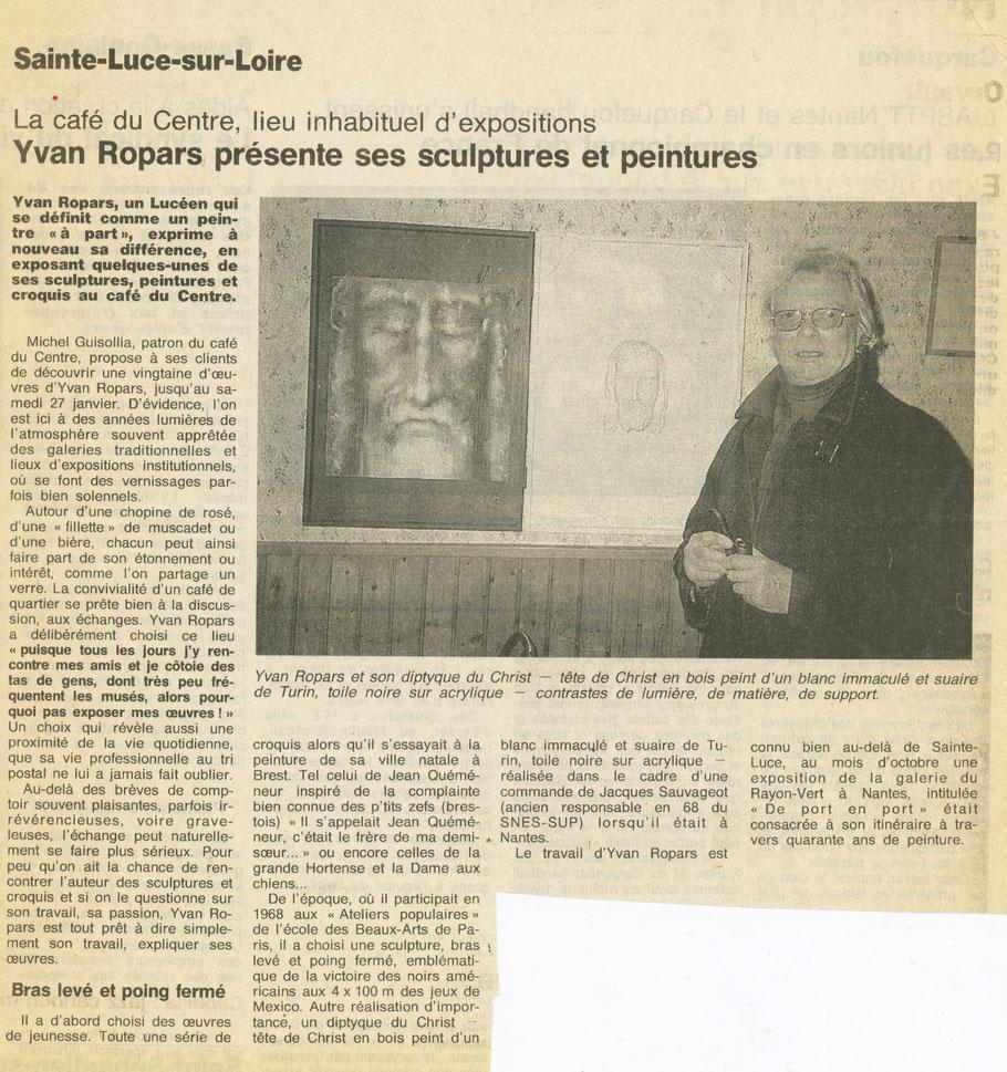 Ouest-France 20-21 janvier 1996