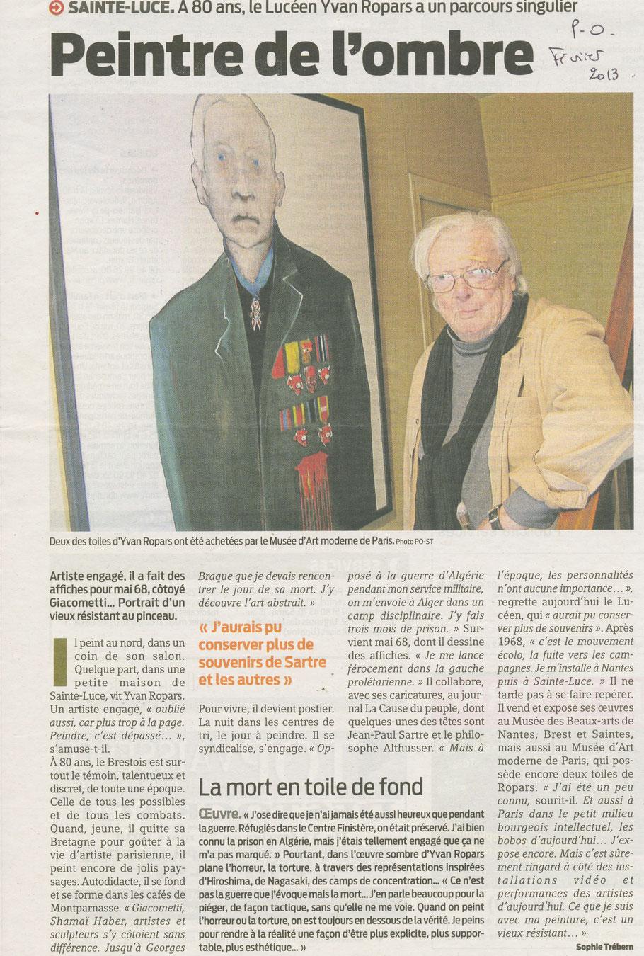 Presse Océan 11 février 2013