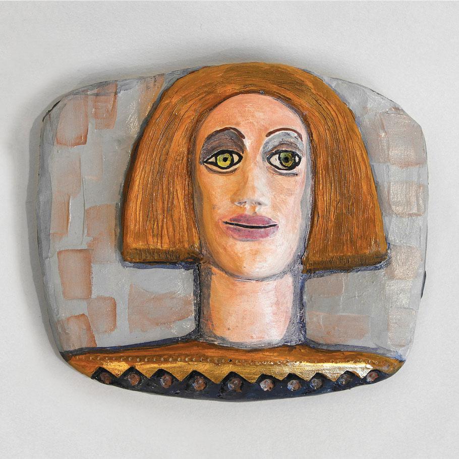 Tierkreiszeichen Jungfrau, Keramik von Susanne Stuwe-Thiel