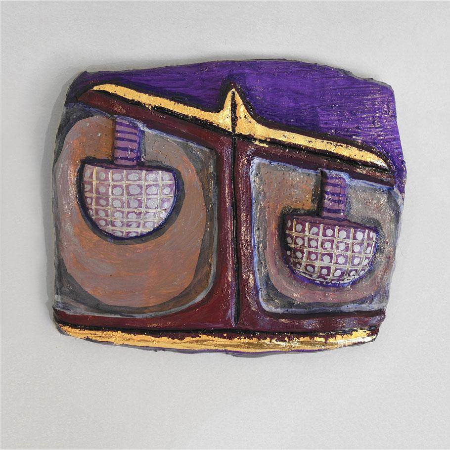 Tierkreiszeichen Waage, Keramik von Susanne Stuwe-Thiel