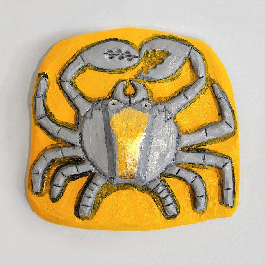 Tierkreiszeichen Krebs, Keramik von Susanne Stuwe-Thiel