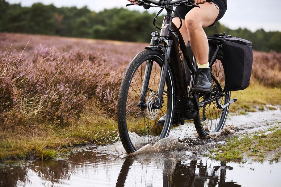 Fahrrad, um Gewicht zu verlieren