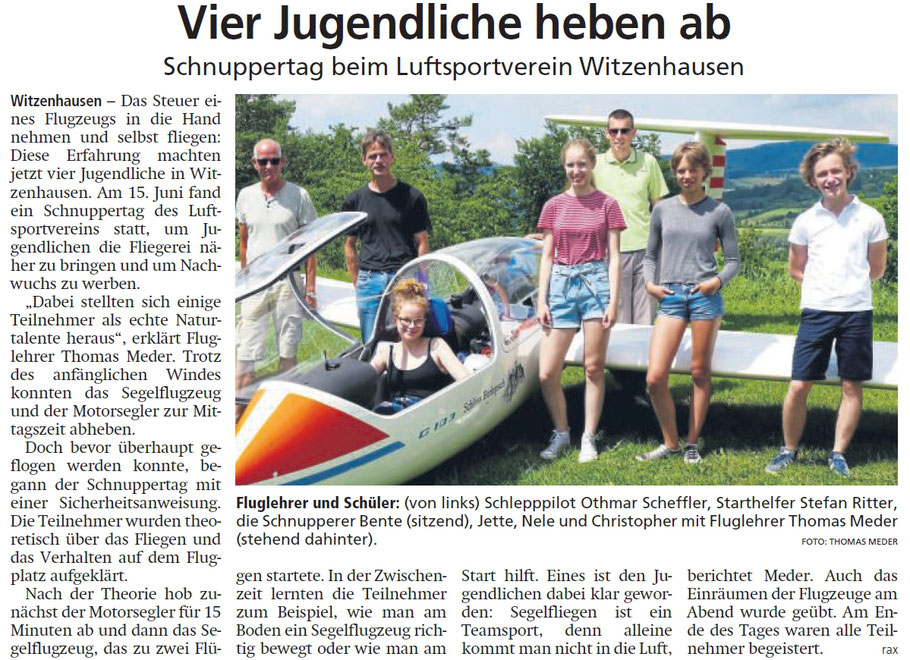 Zuerst erschienen in der HNA-Witzenhäuser Allgemeine, am 19. Juni 2019