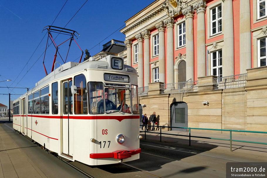 Vor 60 Jahren kamen die ersten Gotha-Triebwagen nach Potsdam. Das wird jetzt mit Sonderfahrten gefeiert. Foto Robert Leichsenring