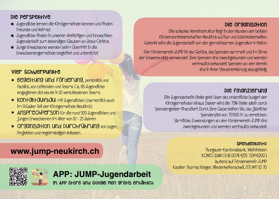 Förderverein Jump Jugend Und Junge Erwachsenenarbeit Der Evang