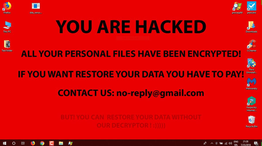 Ransonware, attaque et cryptage de vos données