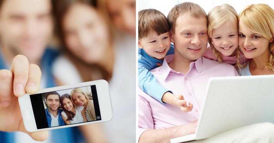 Partagez et sauvegardez vos photos et vidéos en quelques clics