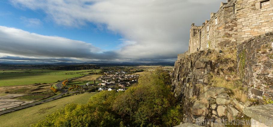 Stirling,castle,Panorama,Aussicht,Trossach,Herbst,Oktober,Schottland,tipps
