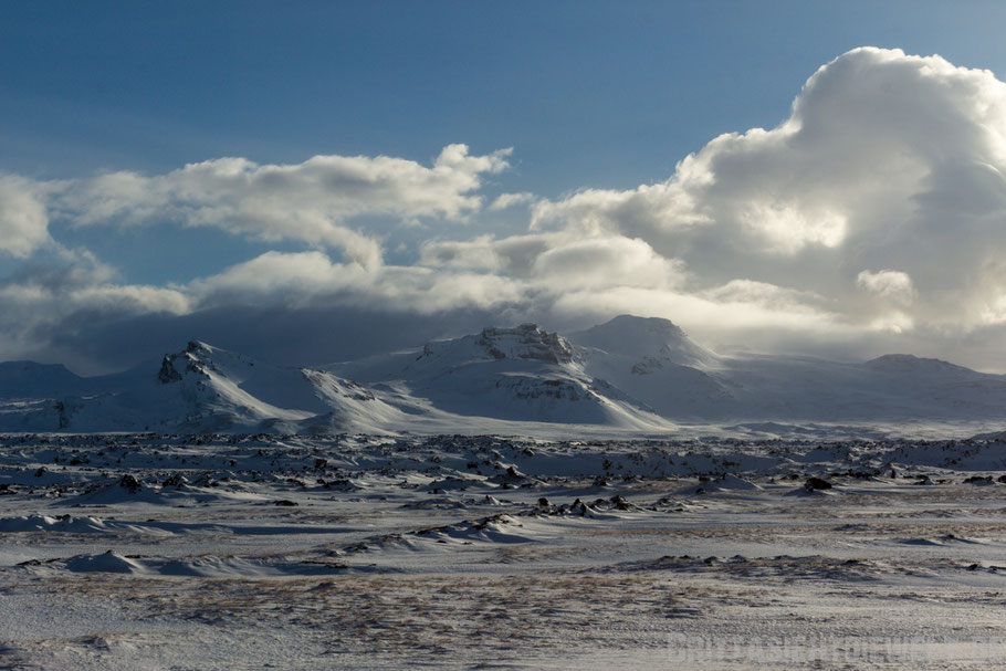 vulkan,mountain,snaefellsnes,island,iceland,winter,february,west,car,snow,tipps