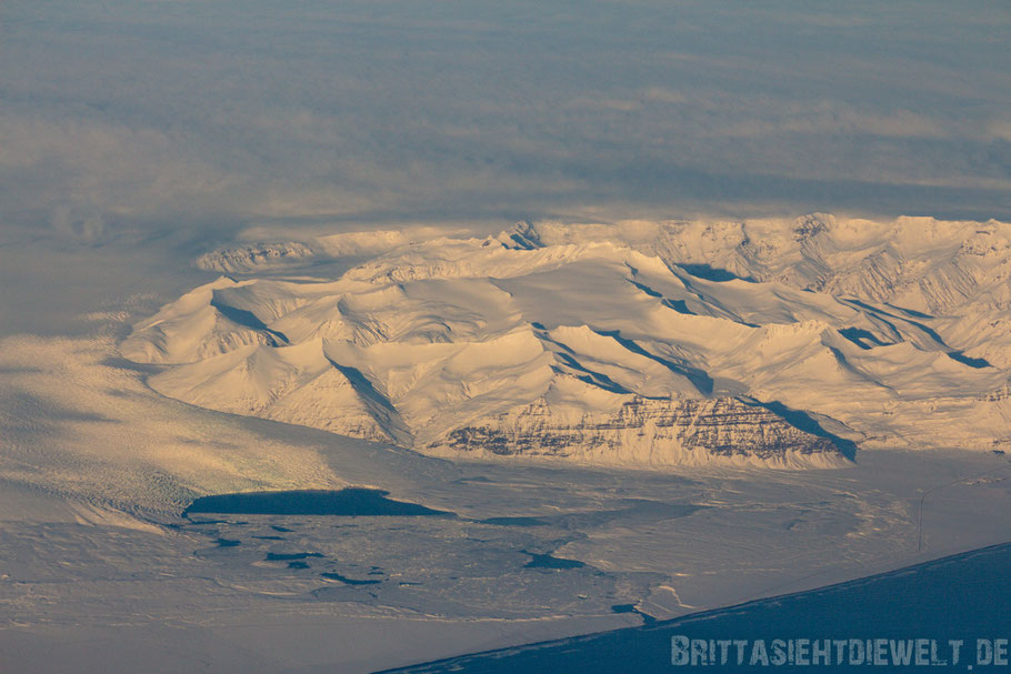 Vatnajökull,Breiðamerkurjökull,Jökulsárlón,Island,Winter,Luftbild,Flugzeug