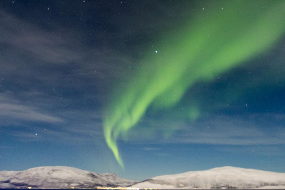 Tipp,Nordlicht,Polarlicht,Aurea,borealis,Hurtigruten,MS,Midnatsol,Postschiff,November,Winter