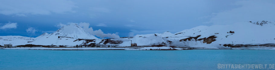 Iceland,Myvatn,sea,north,white,blue,sky,cloud,snowscape,winter,february,tipps,Reykjahlíð,panorama