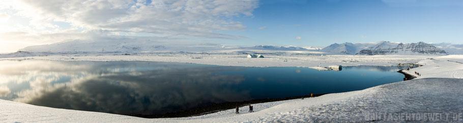 See,Eissee,Gletscher,Vatnajökull,Island,Winter,Februar,Schnee.