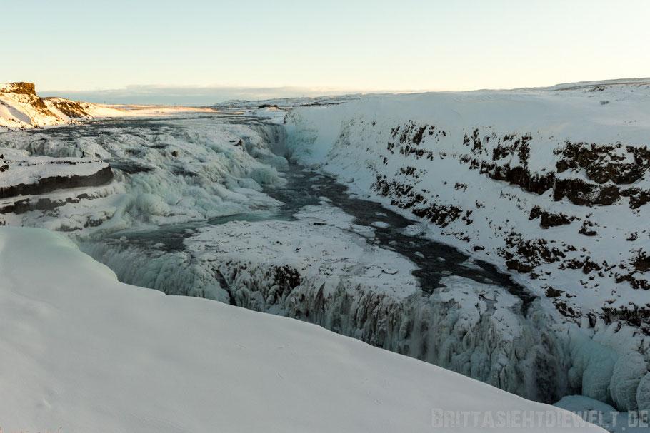 Gullfoss,Wasserfall,Golden,circle,winter,Tipps,Island,selber,fahren