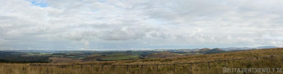 England,Schottland,Grenze,Panorama,Blick,Landschaft