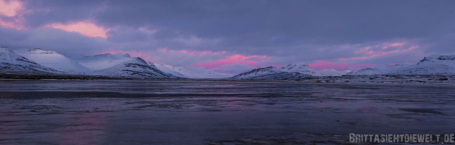 sunrise,Iceland,south,east,coast,winter,february,tipps,panorama