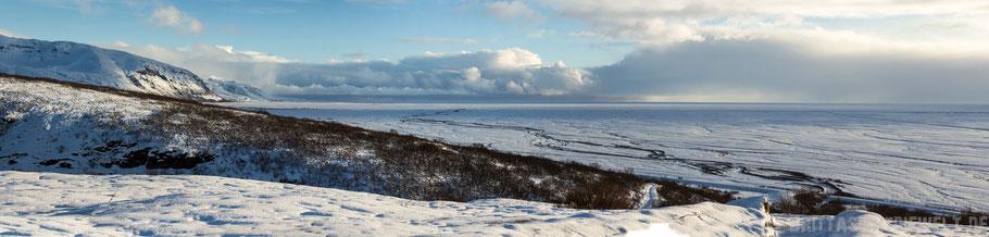 Bild 2: Ebene in Richtung Süden