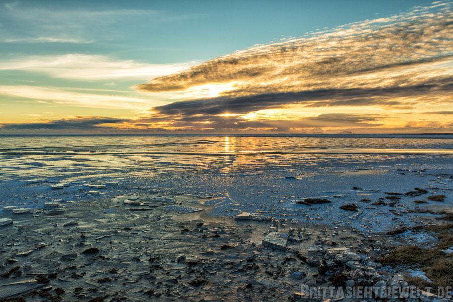 Strand,schwarzer,Sonnenuntergang,Meer,Eyjafjallajökull,winter,Tipps,Island,selber,fahren,Schnee,Iceland.