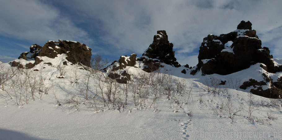 Dimmuborgir,iceland,tipps,car,winter,february,north,myvatn