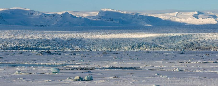 See,Gletschersee,Eissee,Gletscher,Vatnajökull,Island,Winter,Februar,Schnee.