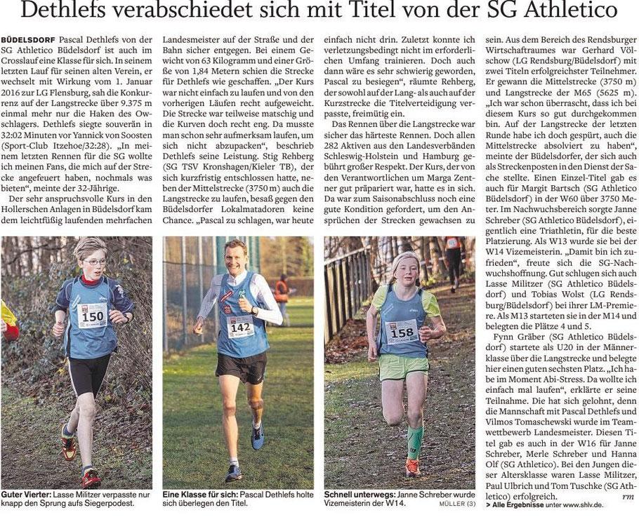 Dethlefs 1. Cross LM Titel in Büdelsdorf