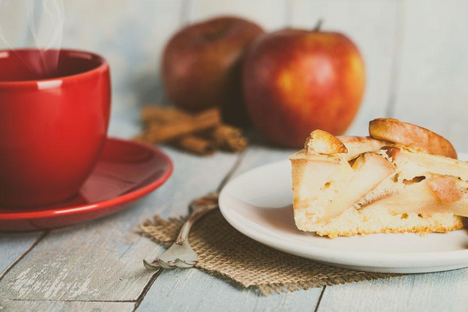 Säure im Kaffee. Bitter, Sauer, Apfel.