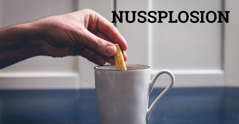 Kaffee mit Nussstängeli