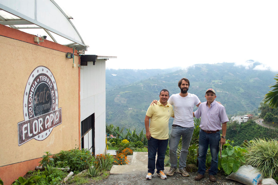 Apia Direkthandel Spezialitätenkaffee Kolumbien Alimado