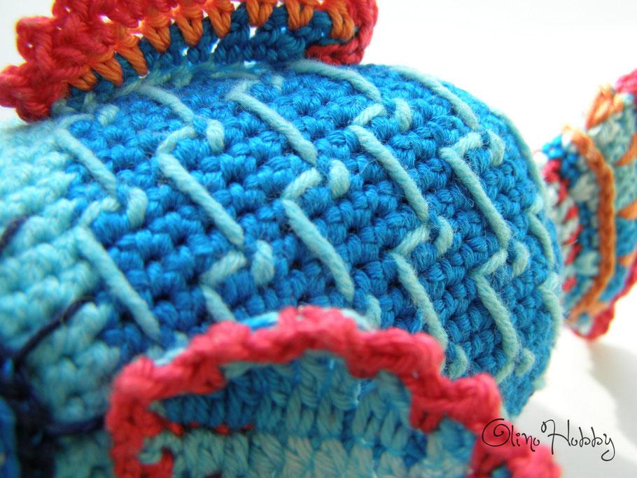 Crochet Fish Toy