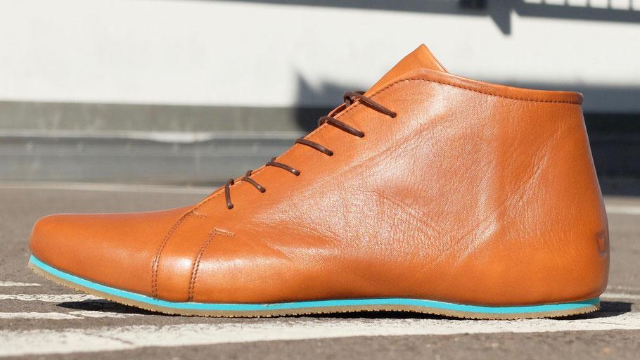 Ledersneaker leder Stiefelette Sorbas'86 faire schuhe sneaker ankle boots nachhaltige schuhe unisex berlin