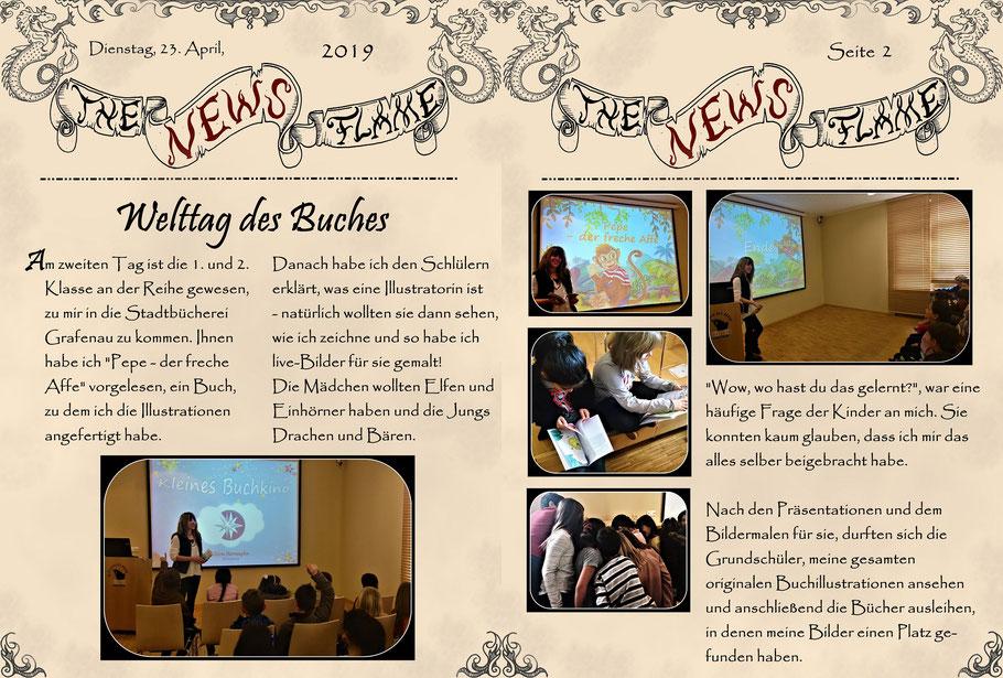 #welttagdesbuches #flammenfarbe #nadines-kreativschmiede #kindergartenevent #schulevent #eventfürgrundschüler
