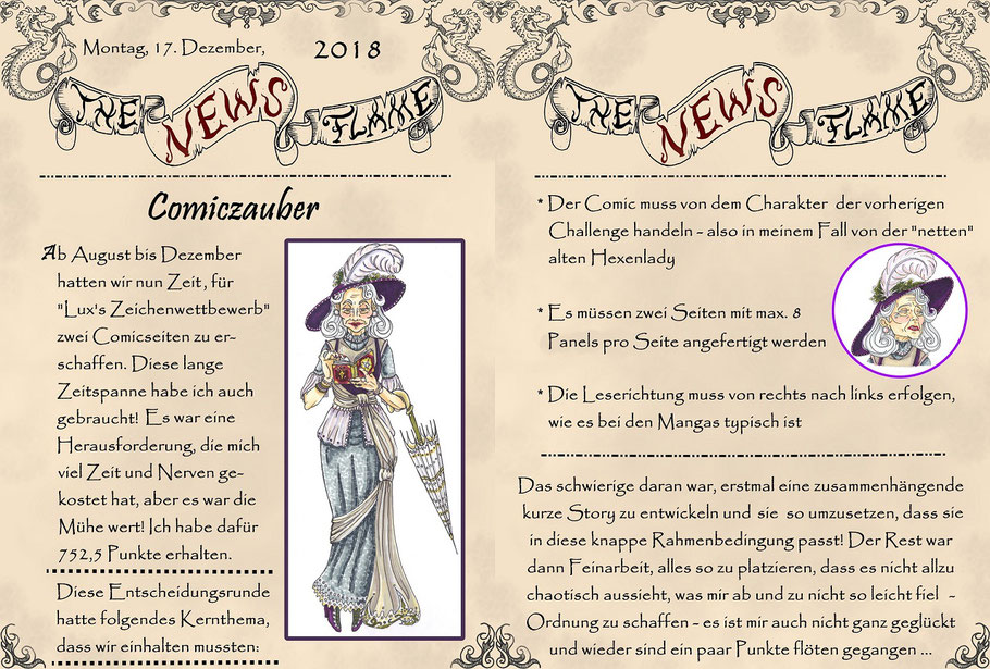 #luxzeichenwettbewerb #comic #mangacomic #thenewsflame #flammenfarbe #comiczauber #nadines-kreativschmiede