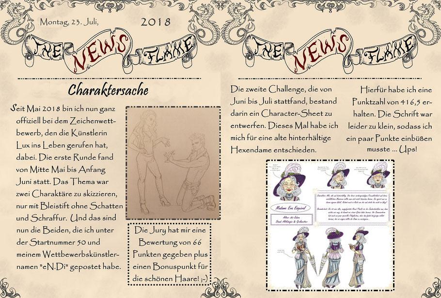 #luxzeichenwettbewerb #scetch #charactersheet #charakterdesign #flammenfarbe #nadines-kreativschmiede