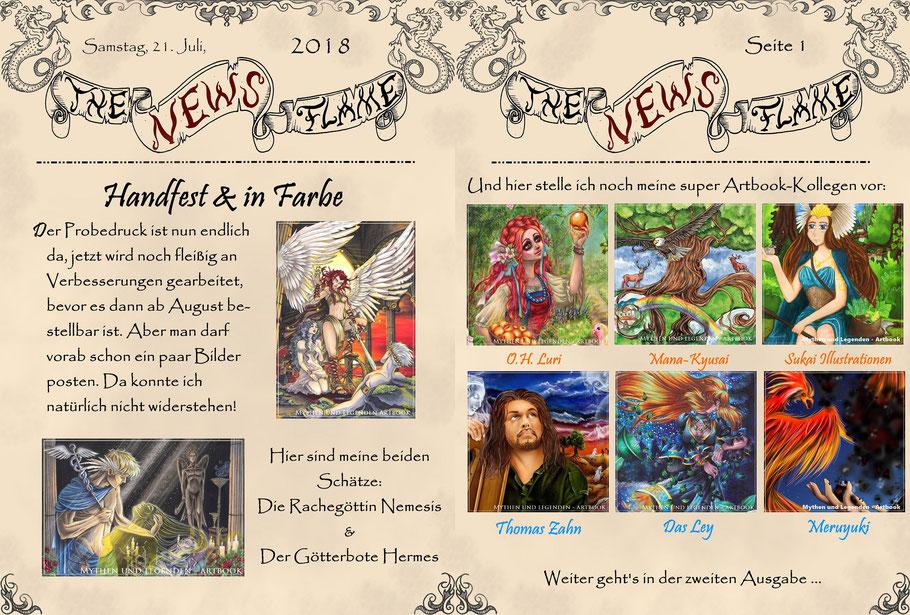 #mythenundlegendenartbook #artbook #flammenfarbe #nadines-kreativschmiede #götter #fantasy