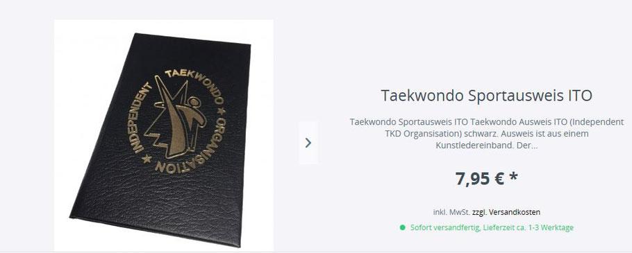 Independent Taekwondo Bestellungen bei Budokonzept: ito