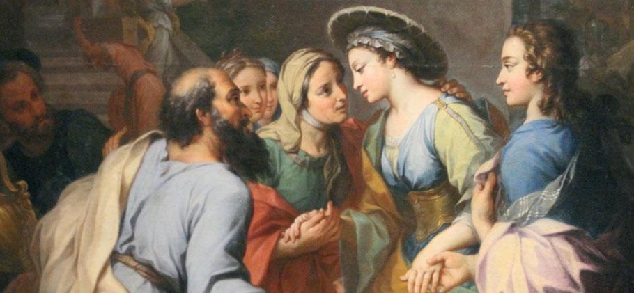 Tobie présente Sarah à ses parents, Histoire de Tobie