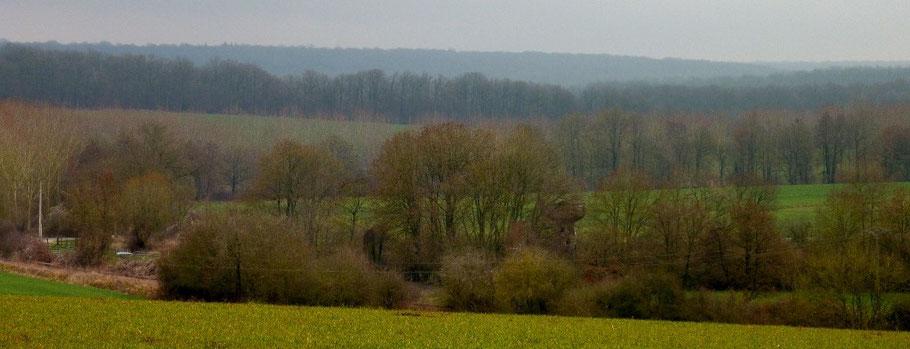 le Grand Morin à Chatillon-sur-Morin - AU BOUT DES PIEDS