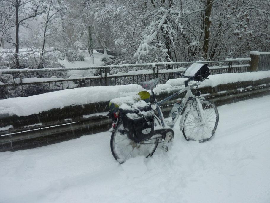 Rando cyclo : l'Ourcq