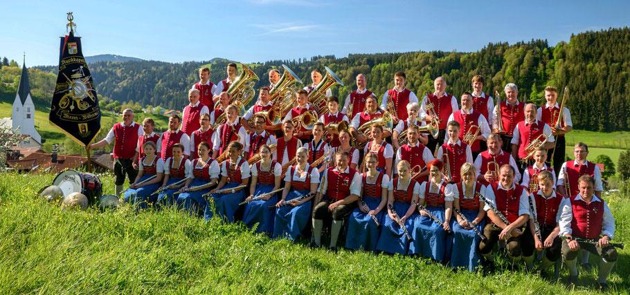Musikkapelle Missen-Wilhams im Festjahr 2016
