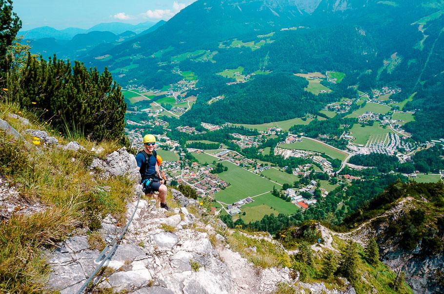 Klettersteig Grünstein am Mondsee