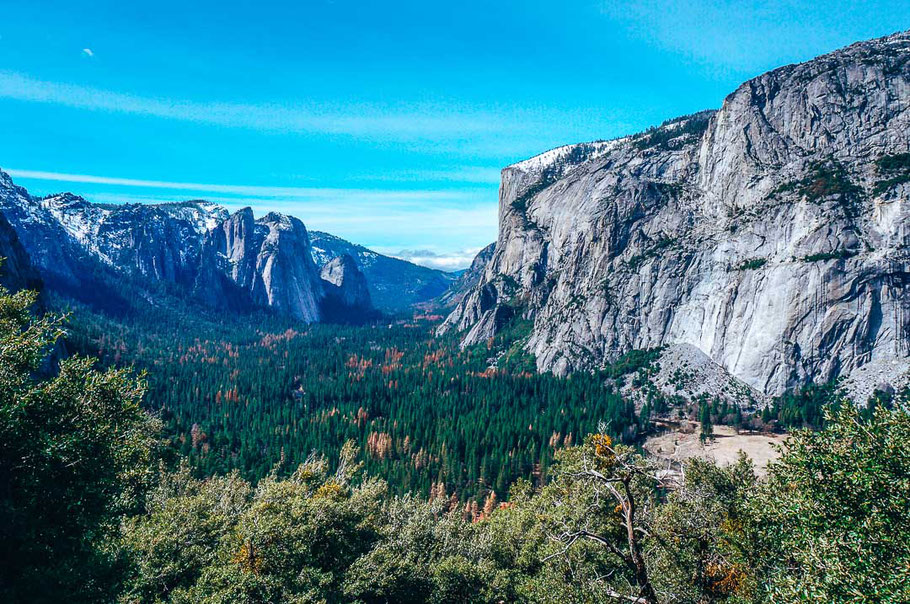 Yosemite Nationalpark Four Mile Trail