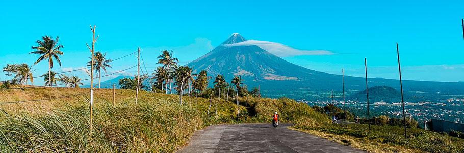 Mount Mayon bei Legazpi