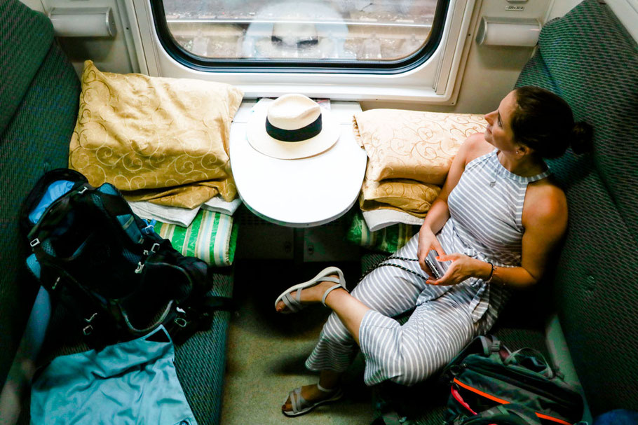 Zug Georgien Aserbaidschan, Tiflis nach Baku, Nachtzug