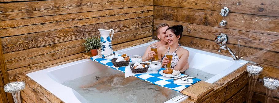 Weißbierbad im Wellness Hotel in Bayern